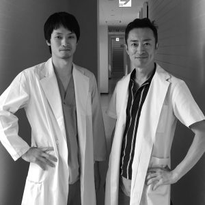 河野医師と金沢雄一郎