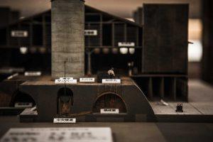 隣の史料館にある模型。この焼成室を見ることができる