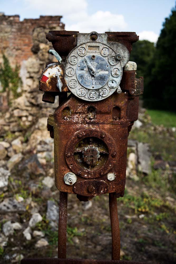 オラドゥール=シュル=グラヌの給油機