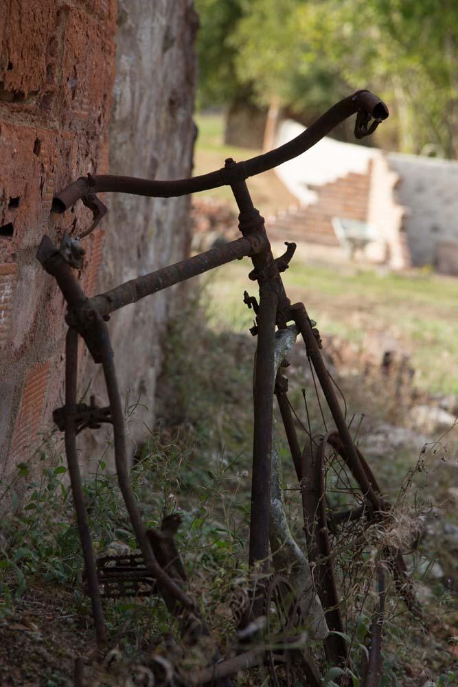 オラドゥール=シュル=グラヌの自転車