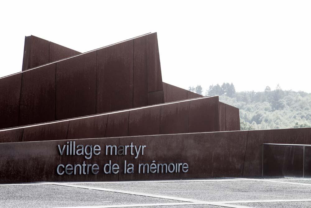 オラドゥール=シュル=グラヌのメモリアルセンター