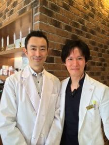 荒尾直樹医師と金沢雄一郎