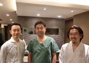 音田先生と金沢雄一郎
