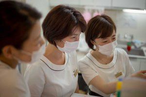 千春皮フ科の看護師たち
