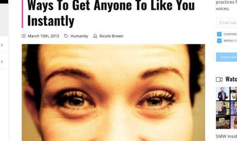 eyebrow flashのウェブサイト